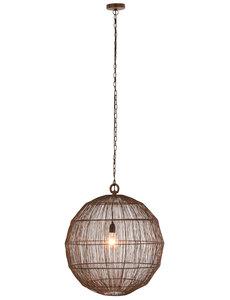 Duverger® Rust - Hanglamp - bol - large - roest - metaaldraad