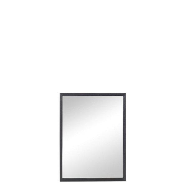 Duverger® Black Edge - Spiegel - rechthoek - zwart - hout