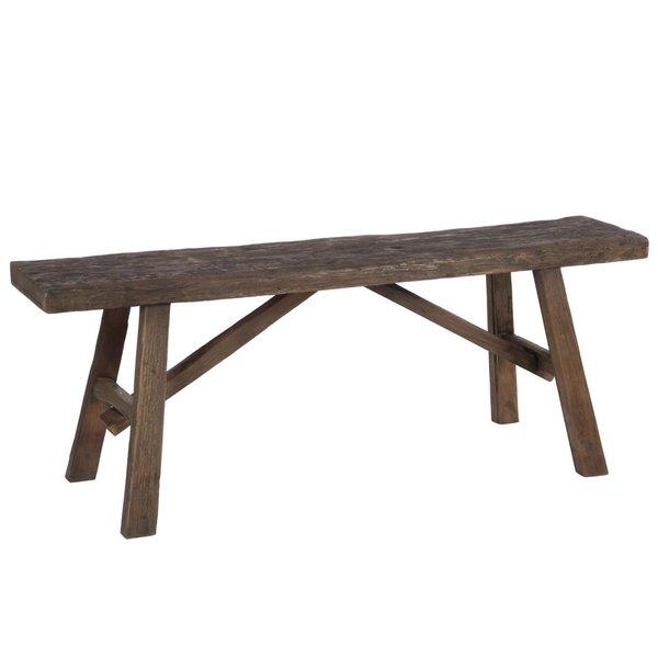 Duverger® Cozy bench - Zitbank - bruin - hout
