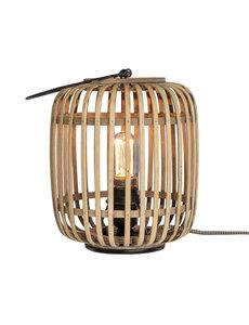 Duverger® Etnic bamboo - Tafellamp -1-lichts - bamboe korf - naturel