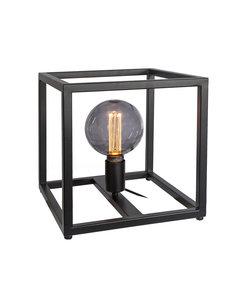 Duverger® Cage - Tafellamp - large - 28cm - stalen frame - zwart - 1-lichts