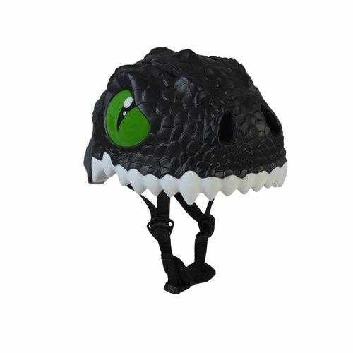 Crazy Safety Kinderhelm / Fietshelm Zwarte Draak / Black Dragon Small 49-55 cm