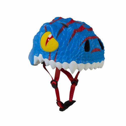 Crazy Safety Kinderhelm / Fietshelm Blauwe Draak / Blue Dragon Small 49-55 cm
