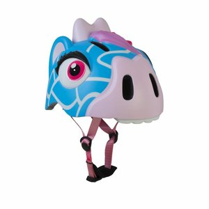 Crazy Safety Kinderhelm / Fietshelm Blauwe Giraffe S