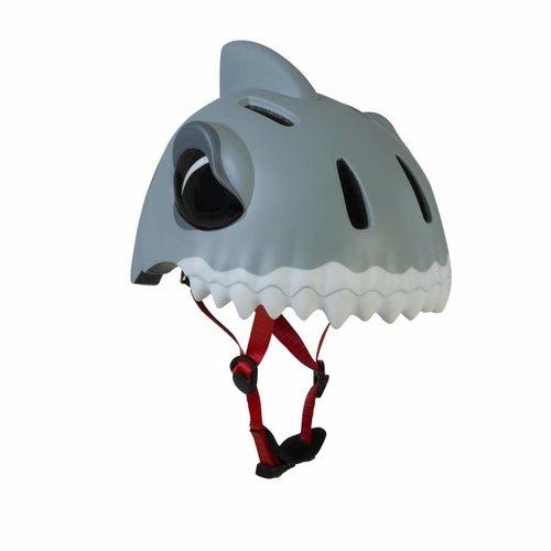 Crazy Safety Kinderhelm / Fietshelm Witte Haai S