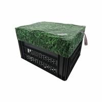Fietskrat Hoes Medium Grass