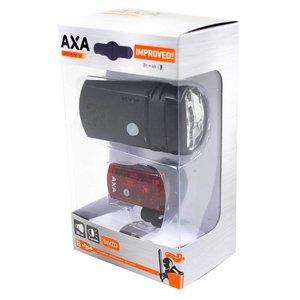 Axa verlichting set Greenline 50 Lux Usb