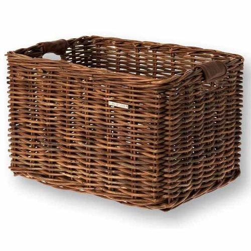 Basil mand riet Dorset Large brown