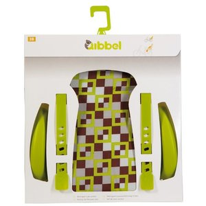 Qibbel stylingset luxe achterzitje checked green