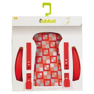 Qibbel stylingset luxe checked red achterzitje
