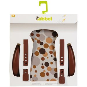 Qibbel stylingset luxe achterzitje dots bruin