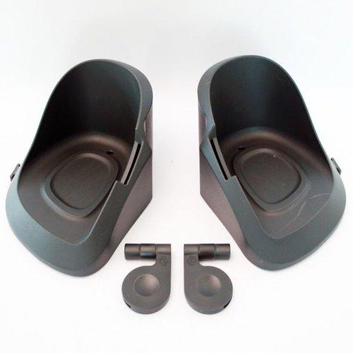 Qibbel voetenbakjes voor of achter compleet