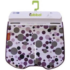 Qibbel windschermflap dots paars