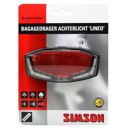 Simson refl/ achterlicht Lineo aan/uit