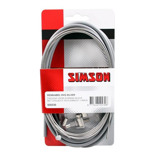Simson remkabel Nexus RVS zi