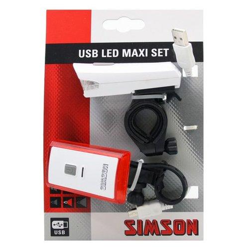 Simson verlichting set maxi usb