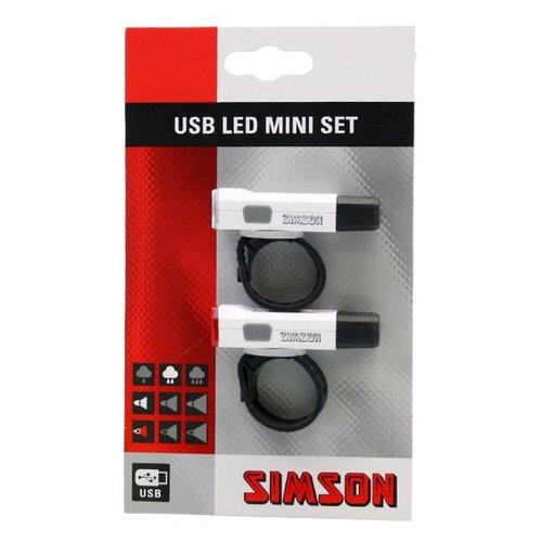 Simson verlichting set mini usb