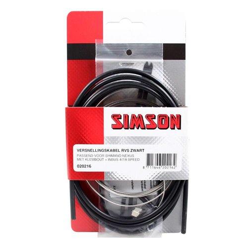 Simson versn kabel Nexus RVS zw