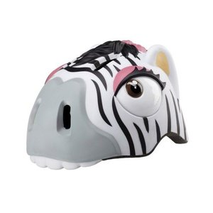 Crazy Safety Fietshelm Zebra