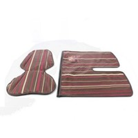 Kussenset Mini + Windflap Striped Red