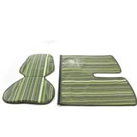 Kussenset Mini + Windflap Stripe Green