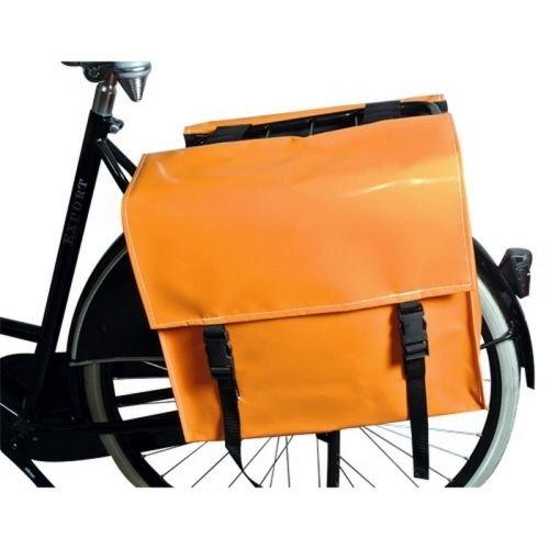 de Poort Dubbele Fietstas 46L Oranje