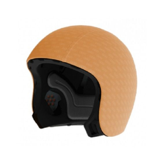 Helm Skin Neon Orange Medium