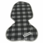 Hooodie Kussentje Mini White Plaid