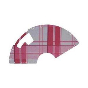 Veilige Voetjes jasbeschermers Pink Plaid 26 inch