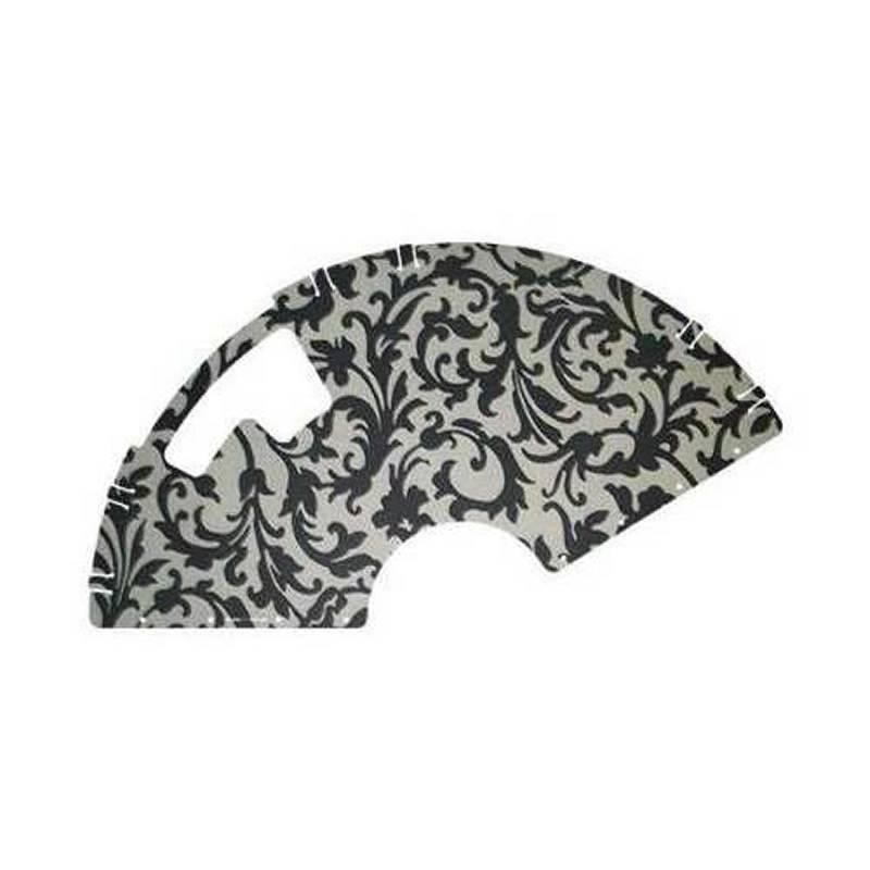 Veilige Voetjes jasbeschermers Decoration Wit/Zwart 26 inch