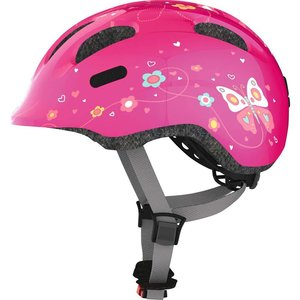 Abus Kinderhelm / Fietshelm Smiley 2.0 pink butterfly S
