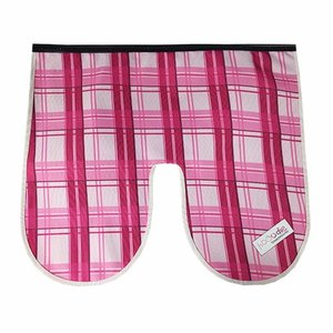 Hooodie Windscherm Flap Pink Plaid