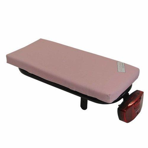 Hooodie Bagagedragerkussen Cushie Baby Pink
