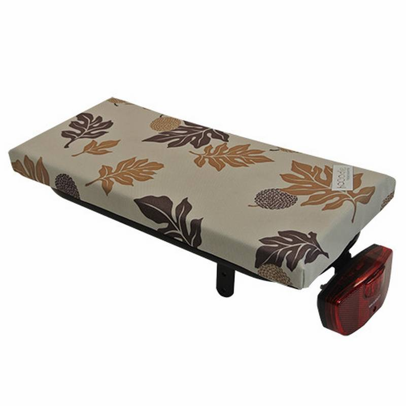 Bagagedragerkussen Cushie Autumn Leaves Brown