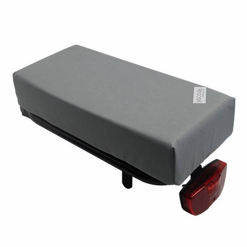 Bagagedragerkussen BIG Cushie Silver Solid