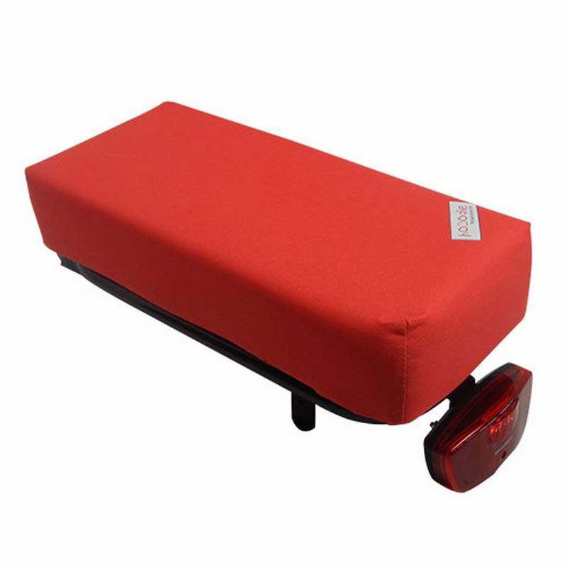 Bagagedragerkussen BIG Cushie Red Solid
