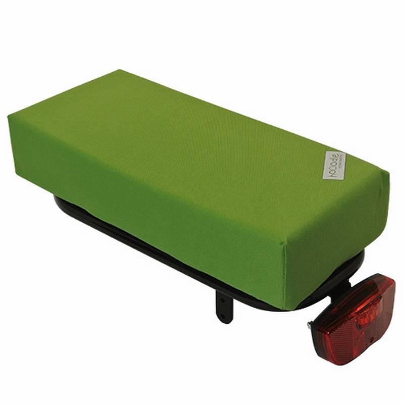 Hooodie Bagagedragerkussen BIG Cushie Olive Solid