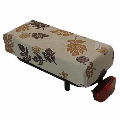 Hooodie Bagagedragerkussen BIG Cushie Autumn Leaves Brown
