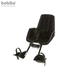 Bobike Mini Plus Classic Urban Black Voorstoeltje