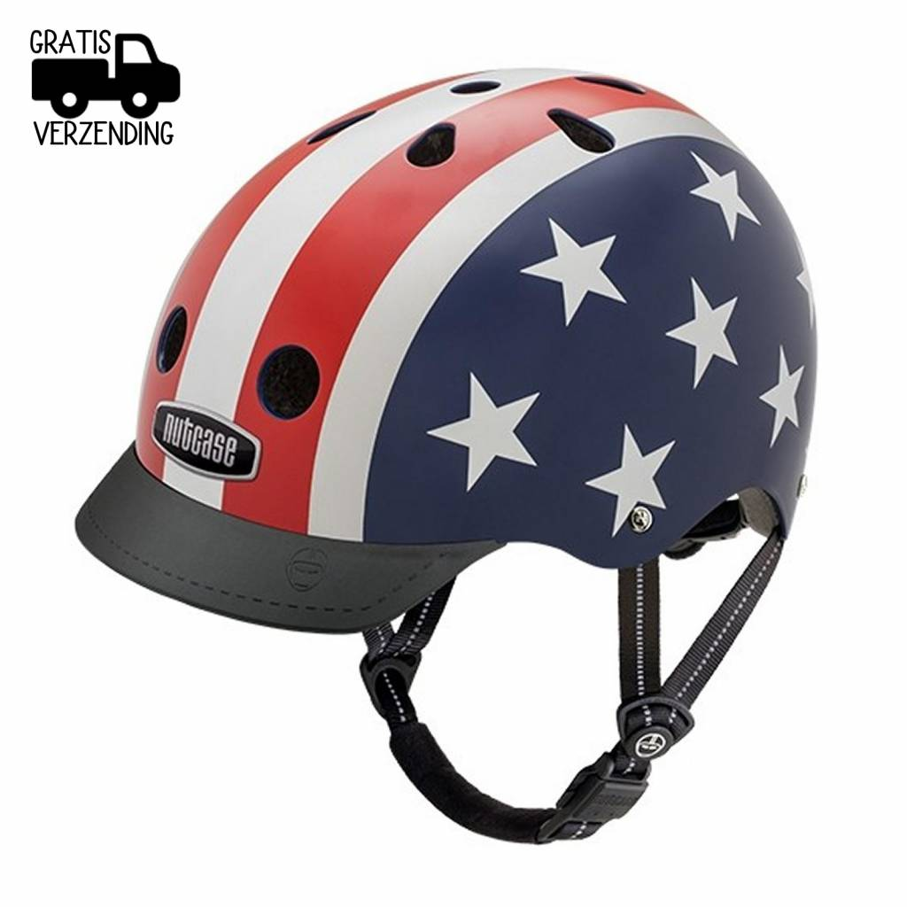 Street Kinderhelm / Fietshelm Stars & Stripes Small