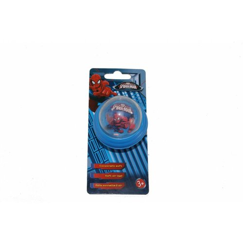 Marvel Fietsbel Spiderman 55 mm soft air blauw