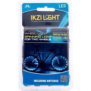 IKZI Wielverlichting 2 x 20 LED's Groen