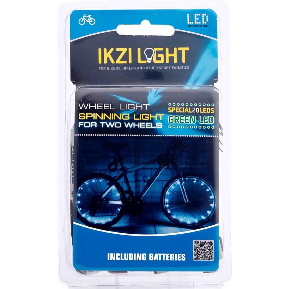 Wielverlichting 2 x 20 LED's Groen
