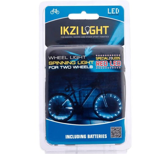 IKZI Wielverlichting 2 x 20 LED's Rood