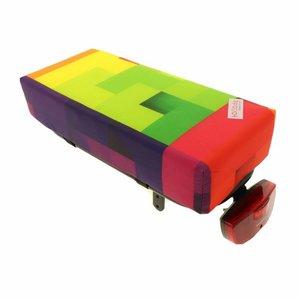 Hooodie Bagagedragerkussen BIG Cushie Blocks