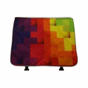 Beck Dubbele Fietstas Classic Blocks