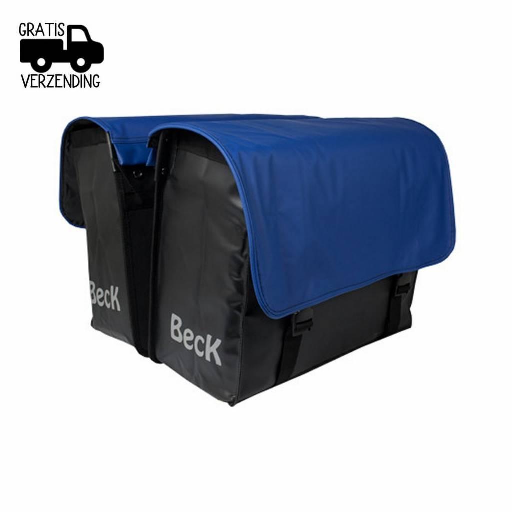 Beck Dubbele Fietstas C U S T O M Compleet PVC Blue