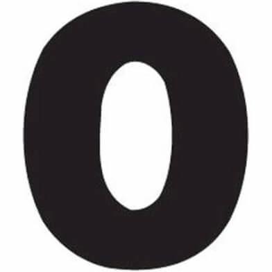 abc cijfer 0
