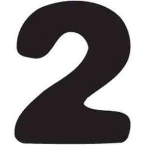 Thule Yepp abc cijfer 2