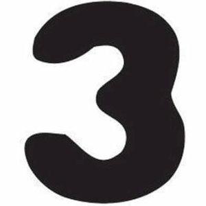 Thule Yepp abc cijfer 3